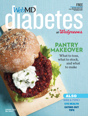 Cover of WebMD Diabetes Spring 2015