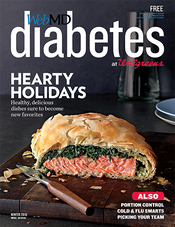 Cover of WebMD Diabetes Winter 2016