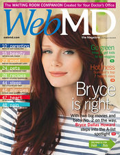 Bryce Dallas Howard in WebMD Magazine