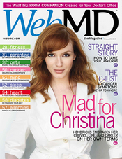 Christina Hendricks in WebMD Magazine