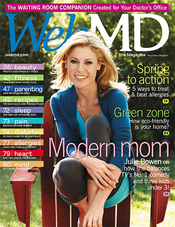 Julie Bowen in WebMD Magazine