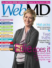 Edie Falco in WebMD Magazine