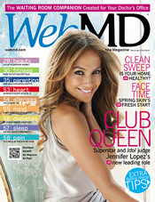 Jennifer Lopez in WebMD Magazine