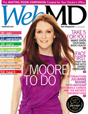 Julianne Moore in WebMD Magazine