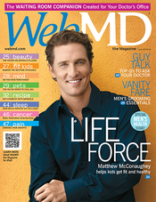 Matthew McConaughey in WebMD Magazine