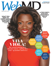 Viola Davis in WebMD Magazine