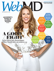 Hilary Swank in WebMD Magazine