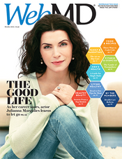 Julianna Margulies in WebMD Magazine