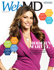Sofia Vergara in WebMD Magazine