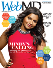 Mindy Kaling in WebMD Magazine