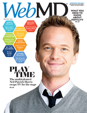 Neil Patrick Harris in WebMD Magazine