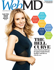 Kristen Bell in WebMD Magazine