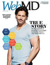 Joe Manganiello in WebMD Magazine