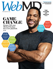 Michael Strahan in WebMD Magazine
