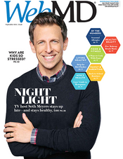 Seth Meyers in WebMD Magazine