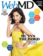 Olivia Munn in WebMD Magazine
