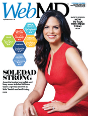 Soledad O'Brien in WebMD Magazine