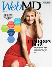 Cameron Diaz in WebMD Magazine