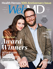 Seth Rogen in WebMD Magazine