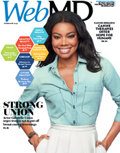 Gabrielle Union in WebMD Magazine
