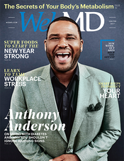 Anthony Anderson in WebMD Magazine
