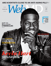Kevin Hart in WebMD Magazine