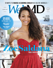 WebMD Oct17 Cover Zoe Saldana