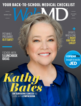 WebMD Cover Kathy Bates