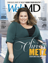 WebMD Magazine cover Chrissy Metz