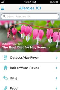 WebMD Allergy App Screenshot 8