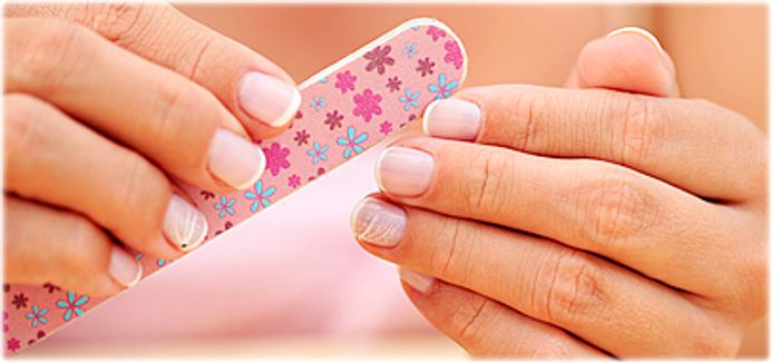 The Best Way To File Your Nails Is