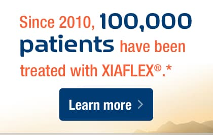 Since 2010, 100,000 patients have been treated with XIAFLEX®.*