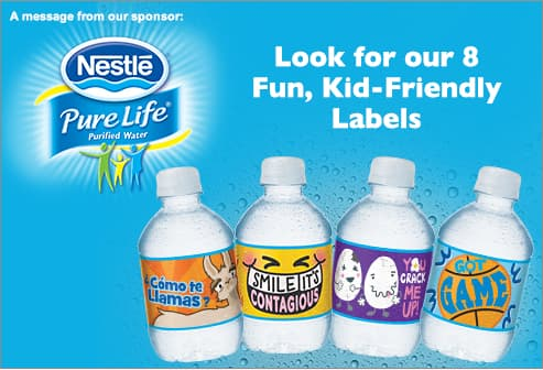 Look for our 8 Fun, Kid-Friendly Labels