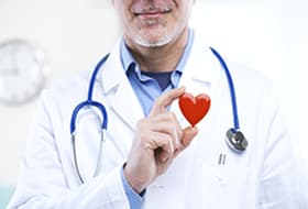 Doctor with a heart
