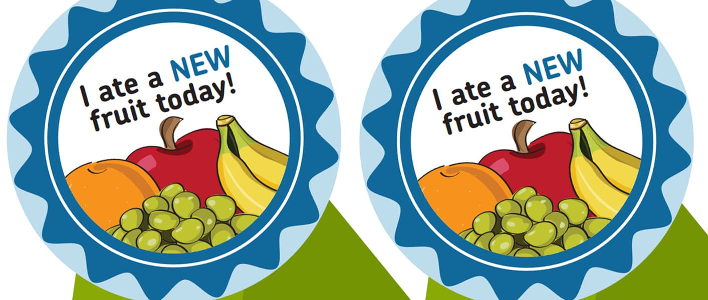 Ate New Fruit Today Award