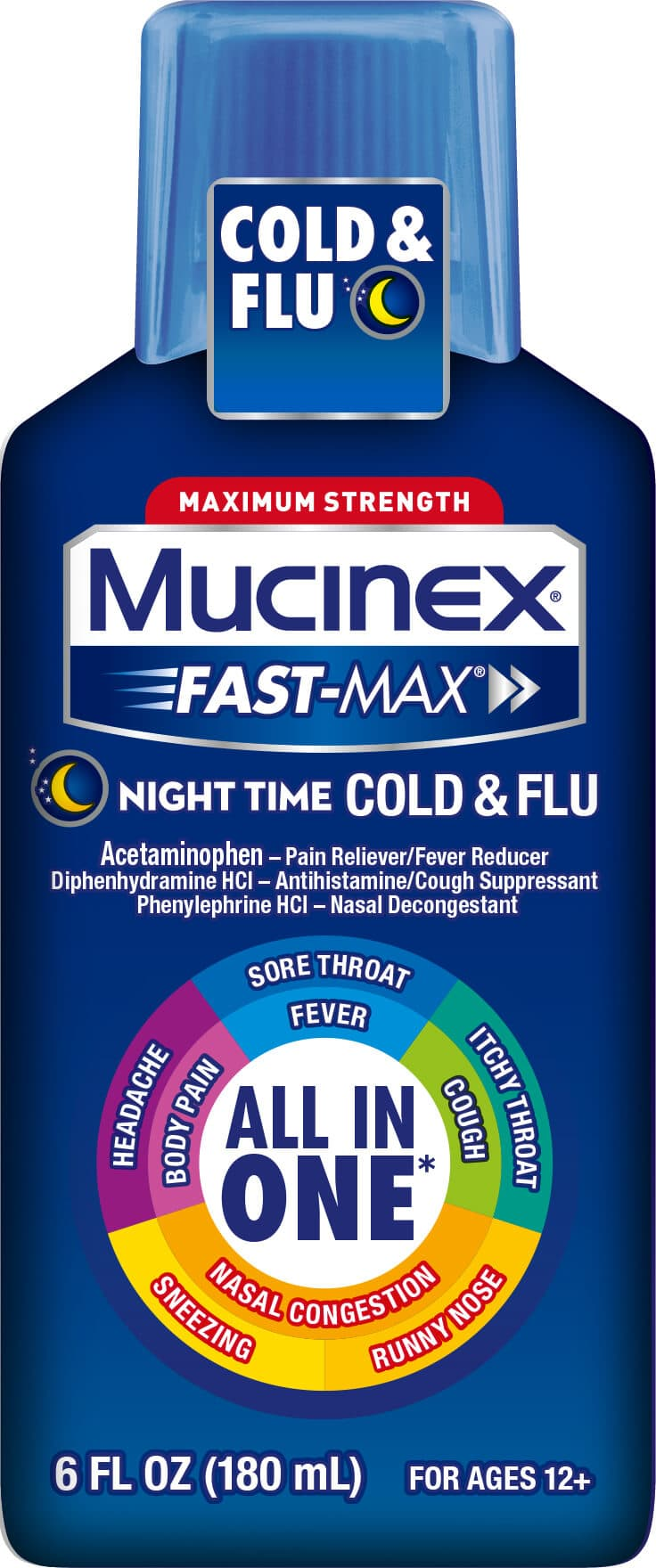 Mucinex Fast-Max Nighttime package