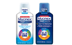 Mucinex Fast-Max All in One Cold & Flu package