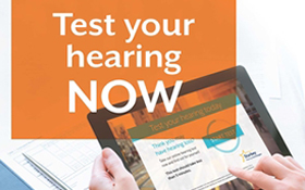 Take a FREE hearing test today
