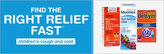 find the right cold and flu relief fast