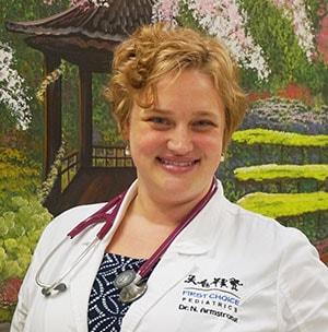 Nicole B Armstrong, MD Pediatrics