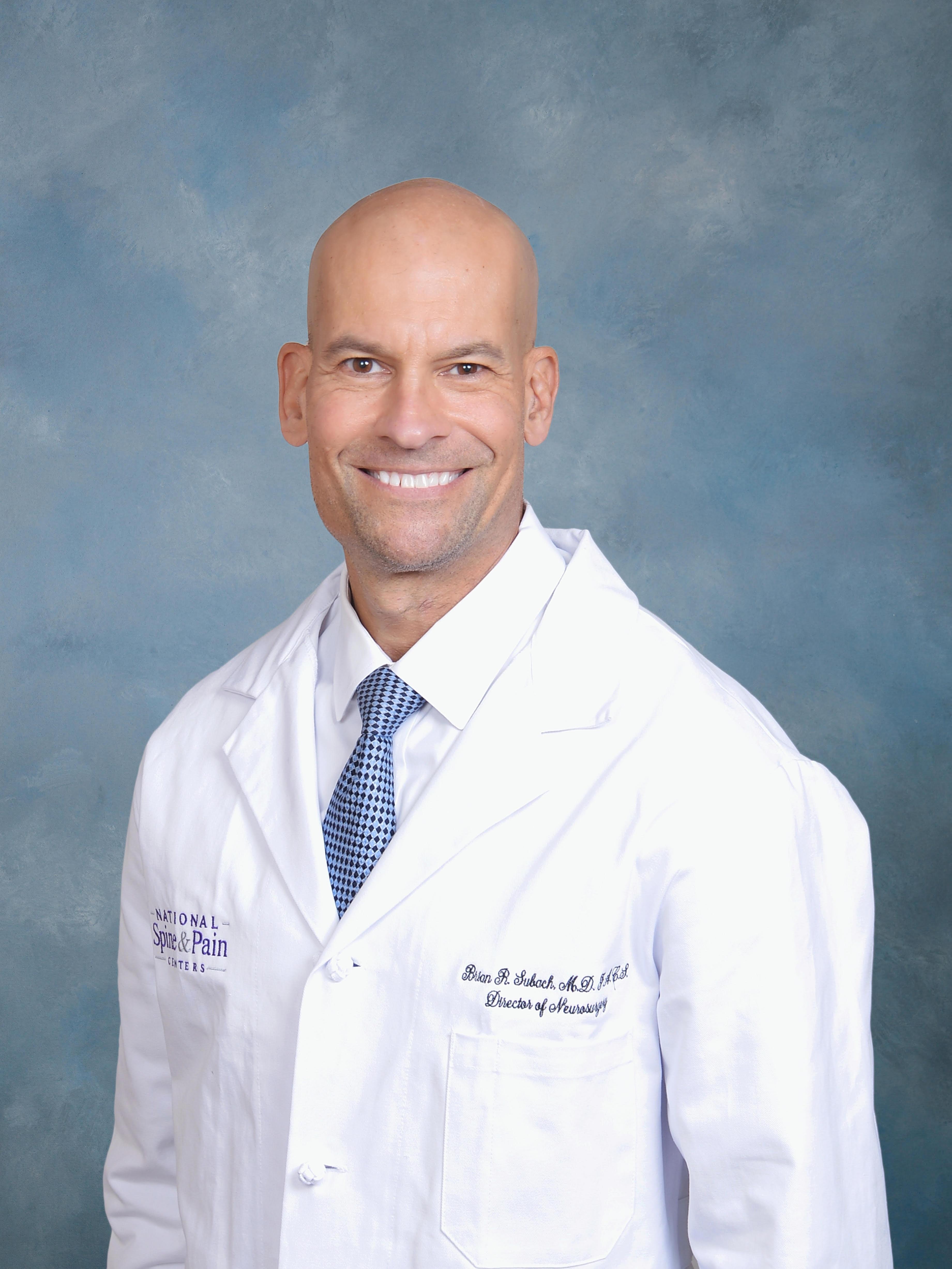 Brian R Subach, M.D., FACS, MD Neurological Surgery (Board Certified)